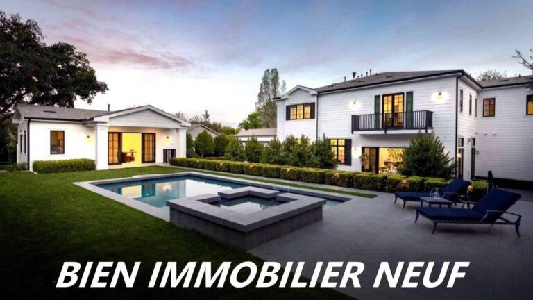 bien immobilier neuf