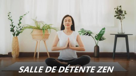 salle de détente zen