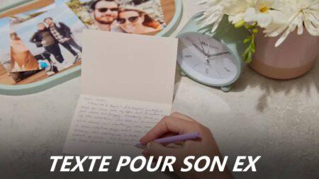 texte pour son ex